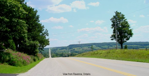 View from Ravenna, Ontario